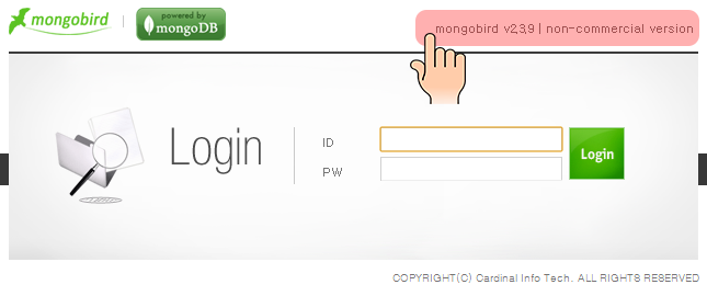 register mongobird 01